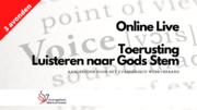 Webshop - Luisteren naar God stem - Online