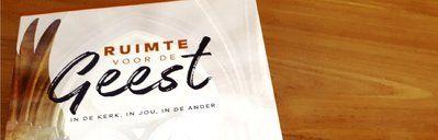 Agenda - Ruimte voor de Geest - Zwolle