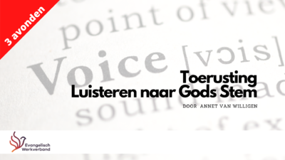 Agenda - Luisteren naar Gods stem - Hoofddorp