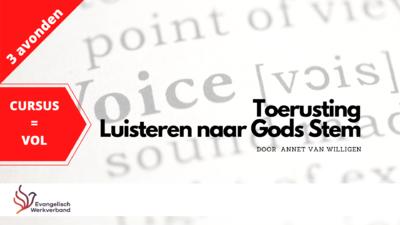 Agenda - Luisteren naar Gods stem - Sliedrecht (live)