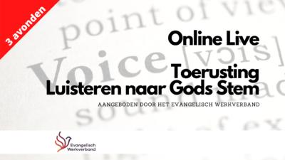 Agenda - Luisteren naar Gods stem - Online