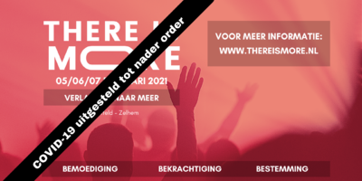 Agenda - There is More! 2021 - Zelhem (verplaatst!)