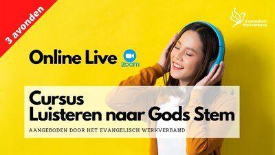Agenda - Luisteren naar Gods stem - Jongeren