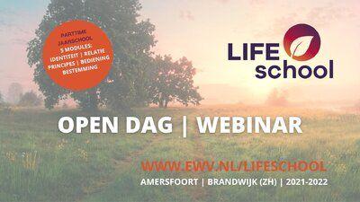 Agenda - LIFEschool Open Dag