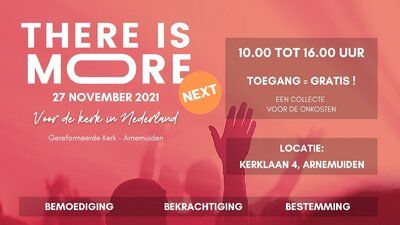 Agenda - There is More! Next - Arnemuiden